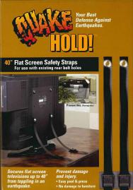 40インチ フラットスクリーンTVストラップイメージ